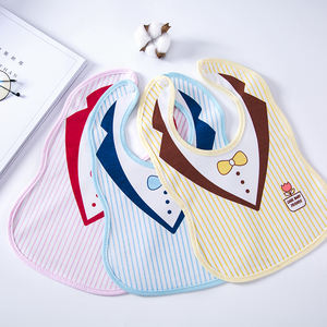 Stain-resistant waterproof cute polyester cotton wholesale baby bibs bandana