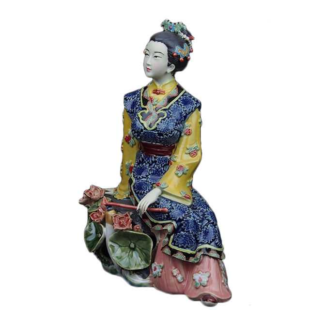 Ceramic fashion traditional Chinese style figurine