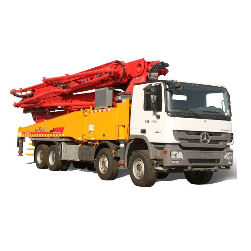 Best selling in africa 52m diesel power boom concrete boom pump truck