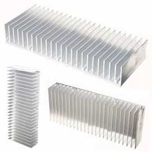 custom CNC machined aluminum radiators