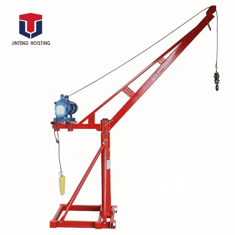 New coming Manufacturing mini machine construction equipment small lifting crane100-1000kg