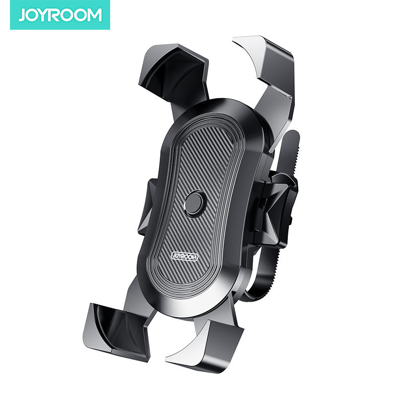 Joyroom Universal Silicone Motorbike Motorcycle Outdoor Mountain Bicycle Bike Handlebar Mount Smart Cell Mobile Phone Holder