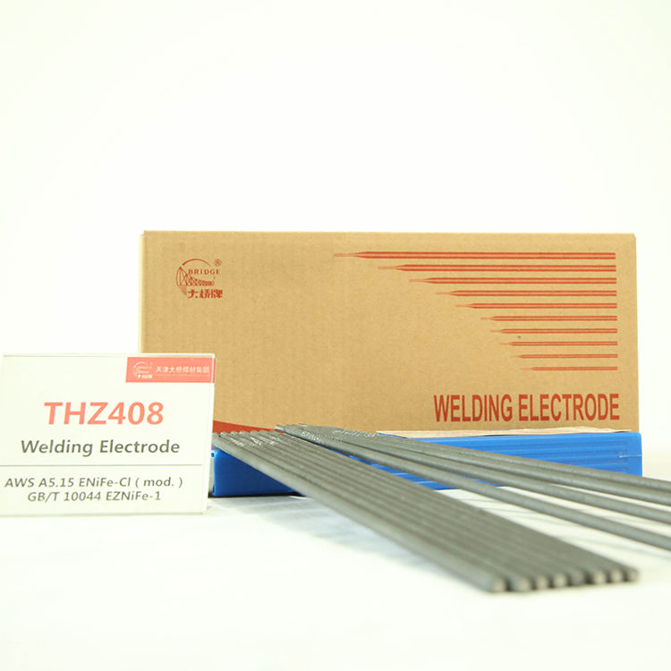 BRIDGE BRAND AWSA5.15 ENiFe-Cl/Z408 Welding rod Graphite Type Cast Iron Welding Electrode