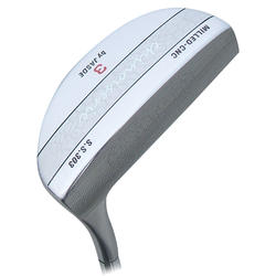 Custom Wholesale OEM stainless steel cnc milled face casting round mallet putter golf club heads