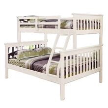 No. 1532 Modern Design Popular Solid Wood Triple pine bunk beds for Children