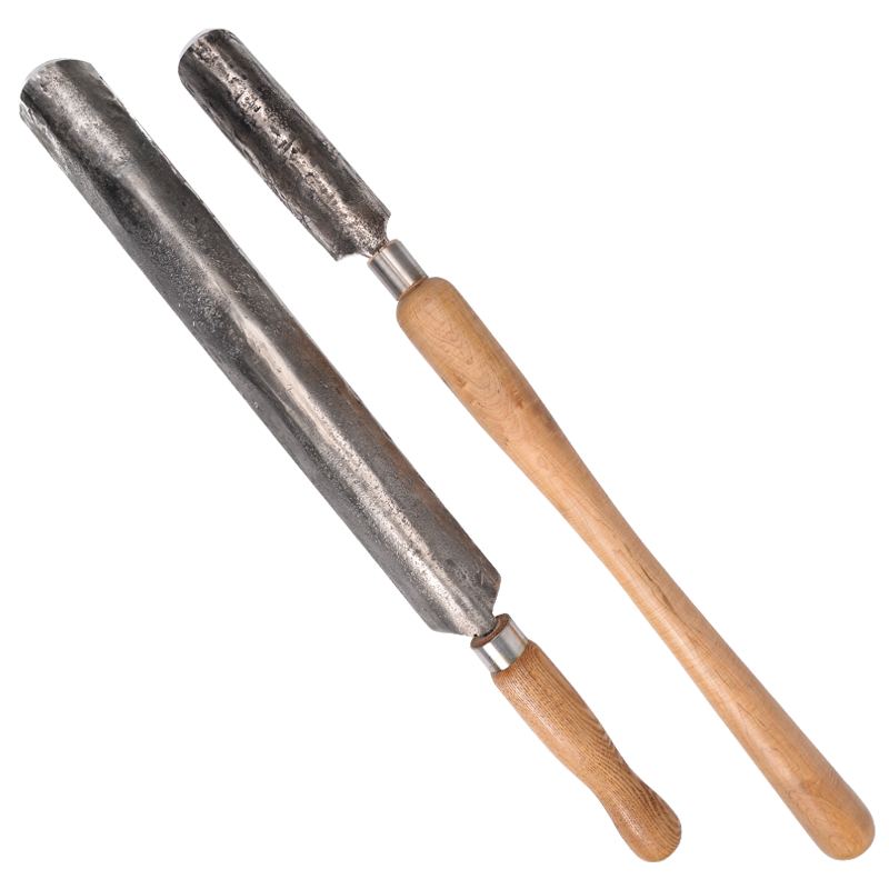 Roughing Gouge Lathe Paring Chisel Wood Turning Tools with Wooden Handle Big and Tough