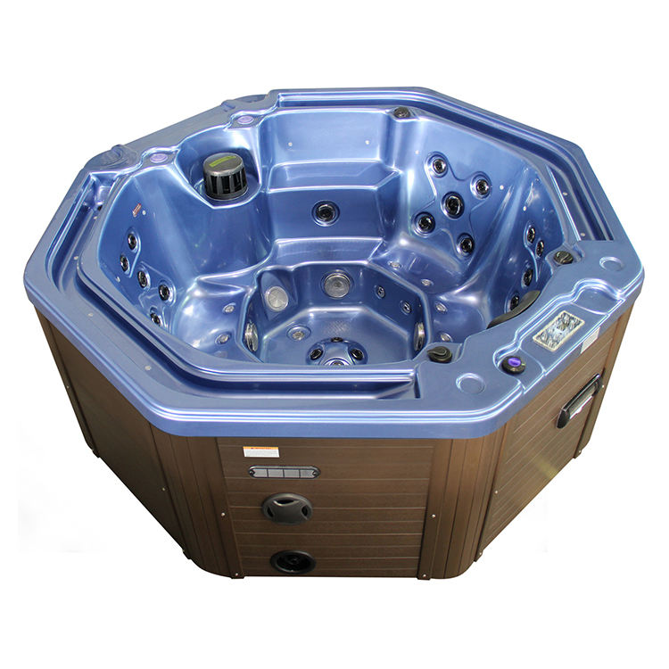 Hot Tubs 6 Person Jets Outdoor Whirlpool Massage Spa Bath Pool