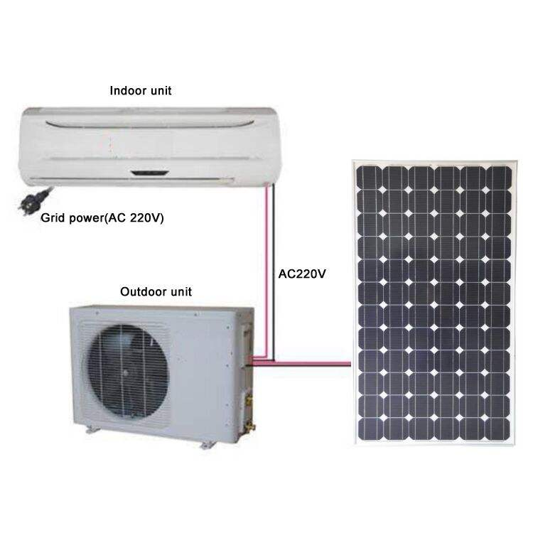 solar powered air conditioner dc solar air conditioner for home use