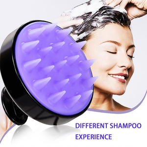 Multifunction Silicone Bath Body Hair Washing Silicon Scrubber Head Massager Shampoo Comb Scalp Bath Brush Wholesale Factory