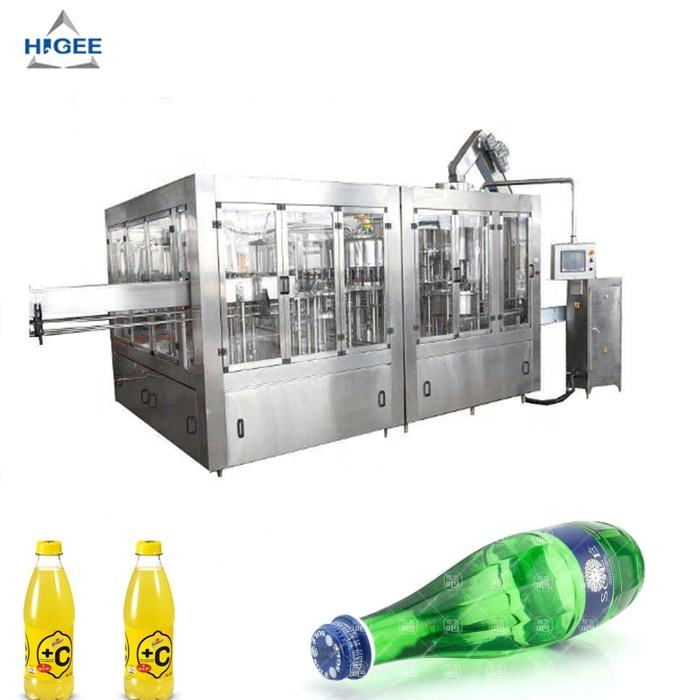 CE certificatins soda filling machine with pet bottle, gas filling machine carbonated bottling machine liquid filler