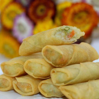High quality Chinese food Frozen net spring roll pastry wrappers