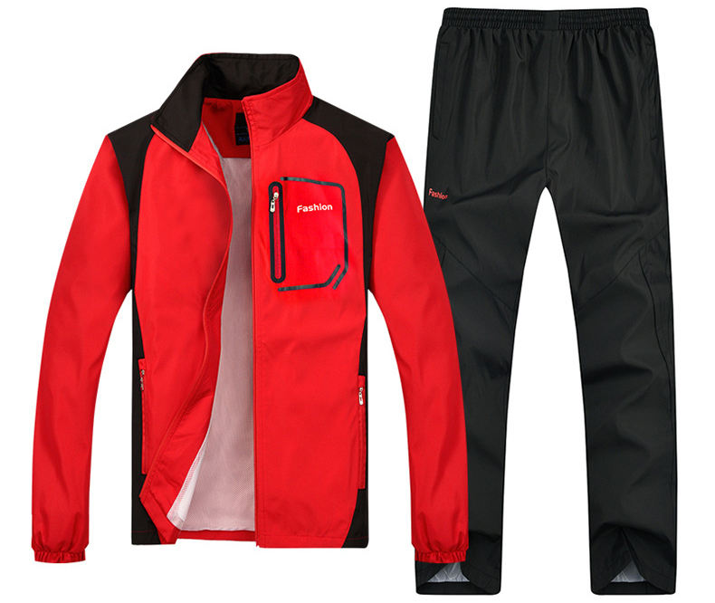 OEM Men Polyester Tracksuit Wears Tracksuit Sport Wear Training Suit Athletic Suit