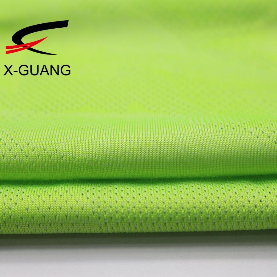 "Hotsale 100% Polyester Material And 58/60"" Width Dri Fit Jacquard Sportswear Polyester Mesh Fabric"