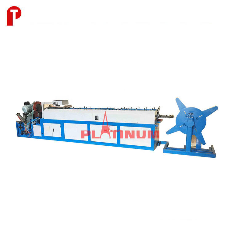 TDC air duct flange cleat roll forming machine for rectangular duct work