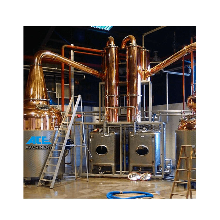 ACE 150 Liter Copper Distillation Equipment