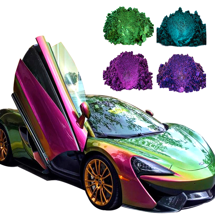 Color Changing Chameleon Powder Metallic Pigment Pearlescent Auto/automotive Paint Car Powder Coating