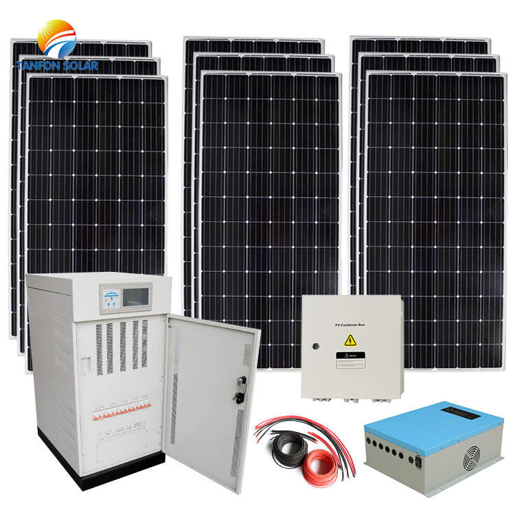30kw <span class=keywords><strong>50kw</strong></span> sistema di pannelli solari per uso <span class=keywords><strong>commerciale</strong></span> e industriale/30kw <span class=keywords><strong>50kw</strong></span> solare off grid sistema di pannelli pannello solare progetto