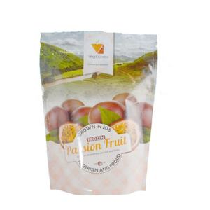 stand up ziplock fruit snack packaging compostable pouch food grade
