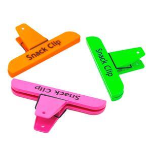 clips plastic snack for Fresh Snack Food Storage Bag
