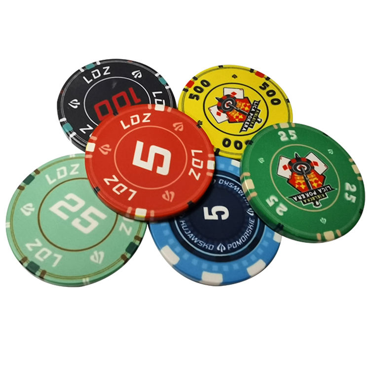 Heavyweight Clay Composite Casino Style Real Clay Poker <span class=keywords><strong>Chips</strong></span>