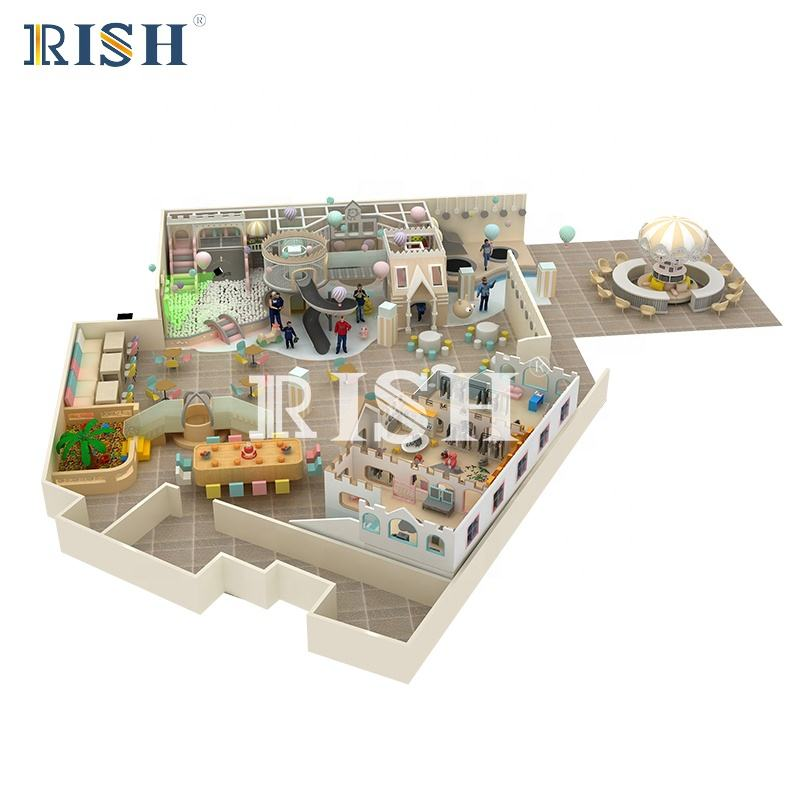 Children indoor playground equipment for restaurant indoor playground furniture