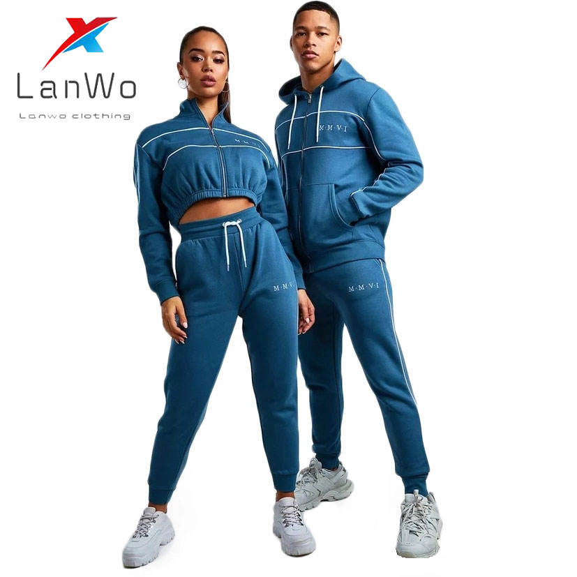 2020 Nieuwe Producten Zip Up Jogger <span class=keywords><strong>Trainingspak</strong></span> Set Trainingspakken Voor Mannen