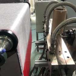 Melting spray machine