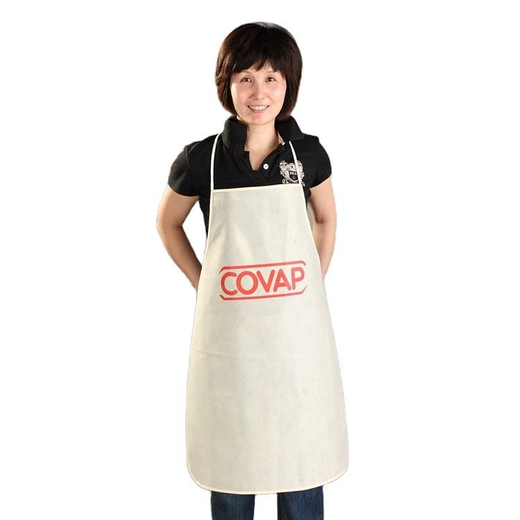 Made in china white waterproof chef professional bbq apron