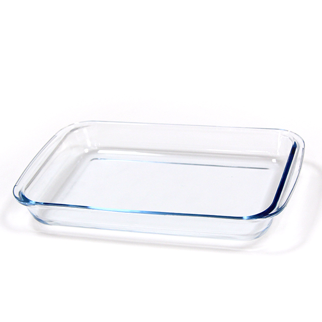 Eco-friendly feature and oven dish plates dinnerware type pyrex glass baking tray oven bakeware set