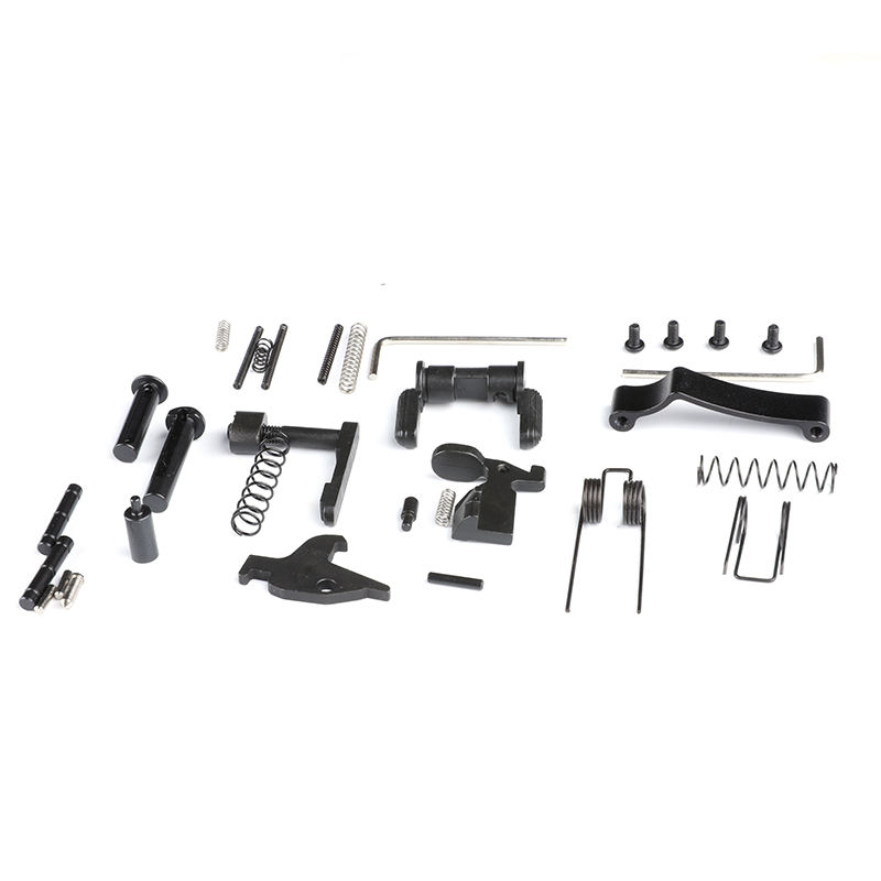 Bugleman Enhanced AR15 Lower Parts Kit 223/5.56 Spring Kit Replacement with Safety Selecter Magazine Catch