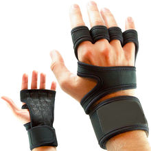Design Your Own Logo Custom Fitness Gloves Wholesale