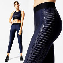 ladies stretchy high waist fitness  sportswear pants wholesale sports jogging workout gym yoga leggings