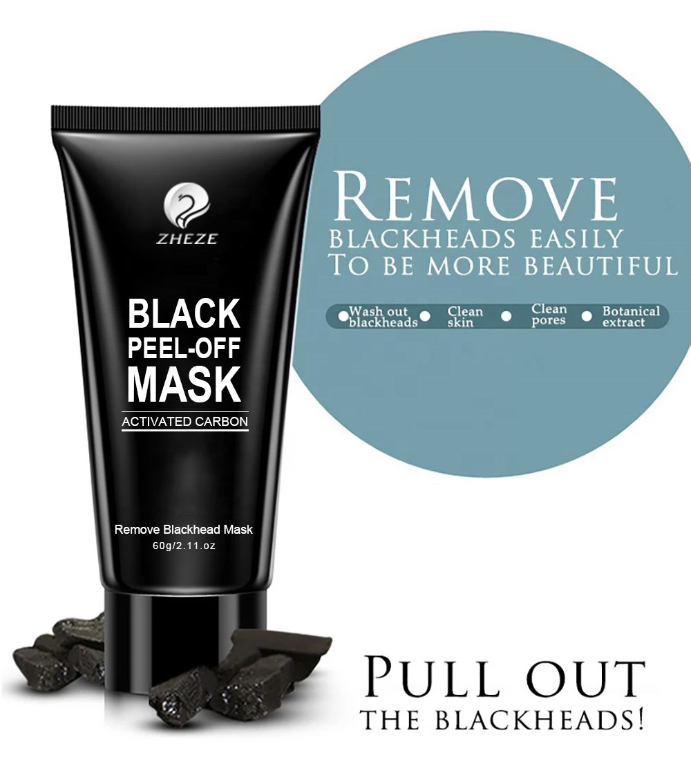 Lightening Private Label Skin Care Product Cosmetic Charcoal Peel Off Mask for Blackhead Removal