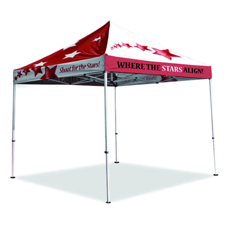 New design tent aluminum advertising fire-resistant promotional 10x10ft tent manufacturer china