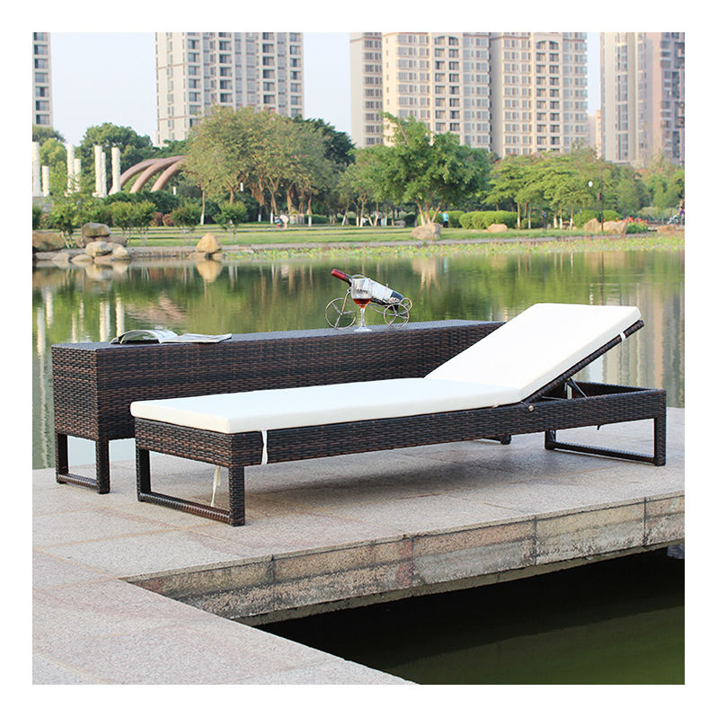 Outdoor Swimming Pool Furniture Rattan Furniture Sets Pool Chairs Sun Lounger