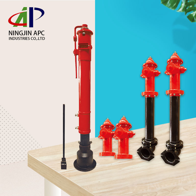 China APC FM Approved Dry Barrel Underground 250psi Cast Iron Flanged Fire Hydrant with Reasonable Price