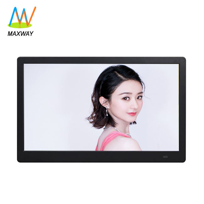guangdong indoor 17 inch commercial led screen machine loop playing mp3 mp4 video monitor for advertising