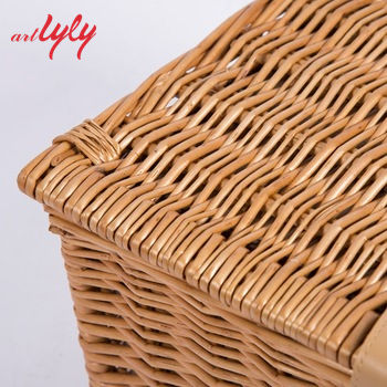 Picnic Basket Good Price And Quality Willow Picnic Basket From Chinese Factory