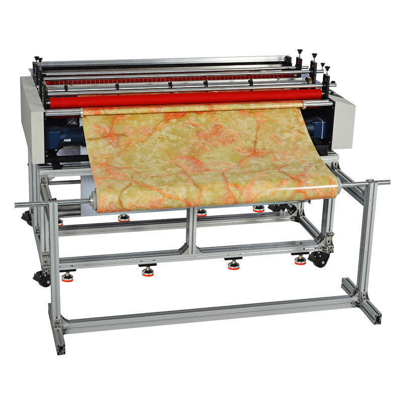 Automatic Pvc Pe Non-woven Roll To Sheet Cutter Computer Cutting Machine For Sale
