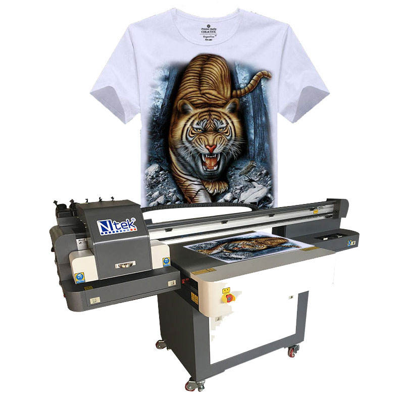 Ntek DTG Flatbed UV Printer 6090 Price Tshirt Printing Shop Machines