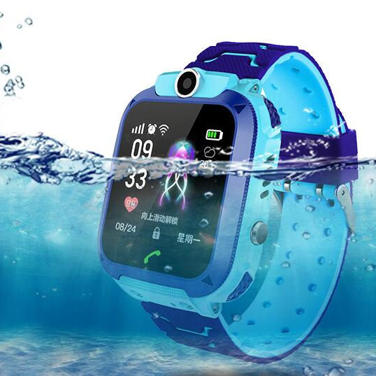 free shipping 2020 Children's smart watch IP67 Waterproof GPS SOS locator children's watch Settpower Q12