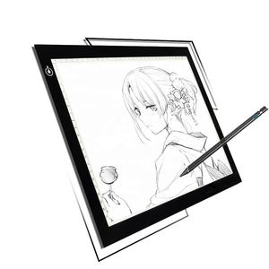 ultra slim led drawing light a4 led board portable USB eye protectionLED tracing board