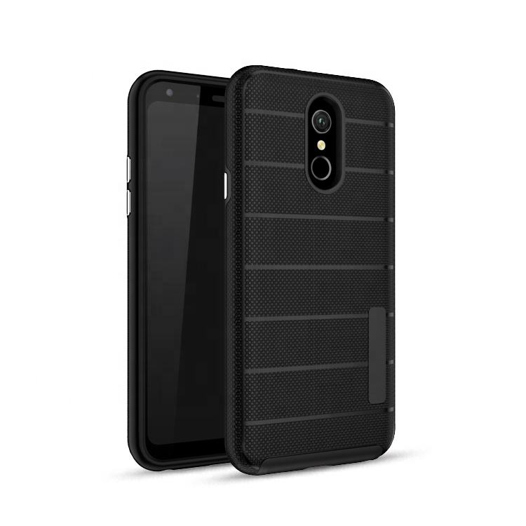 Saiboro armor rugged metropcs phone case for lg q7 back cover, phone covers for lg q7 hybrid case in bulk
