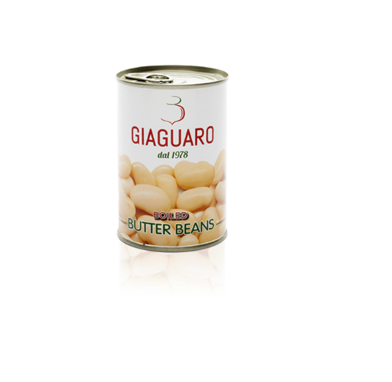 Butter beans in brine GIAGUARO rehydrated 400g canned