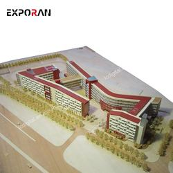 beautiful architectural models 1:200 miniature beautiful sch