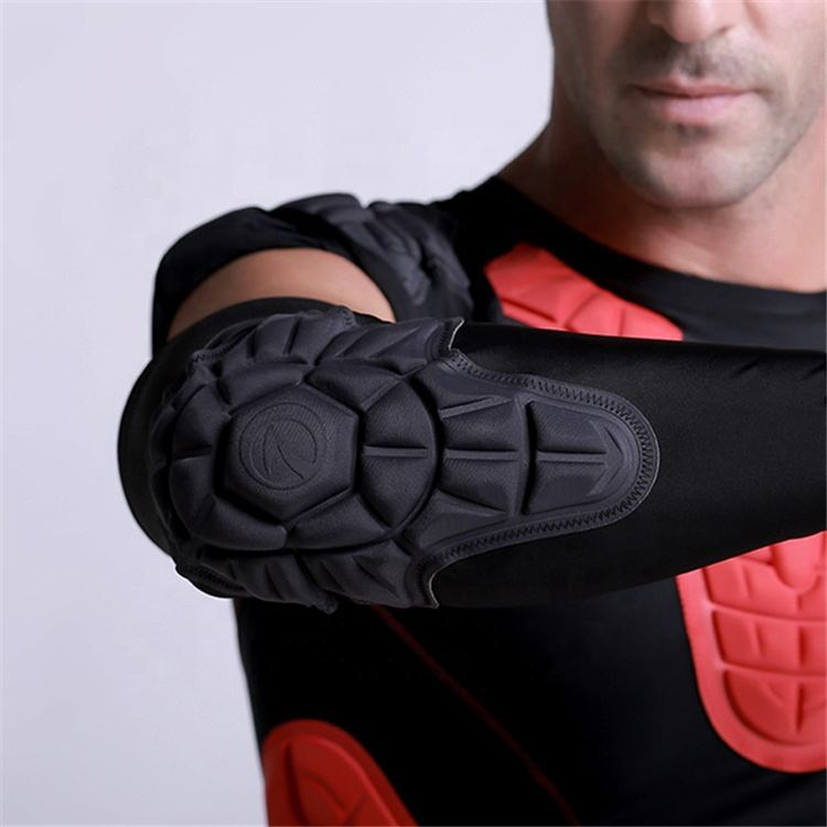 New arrival soccer protective gear padded compression elbow pads