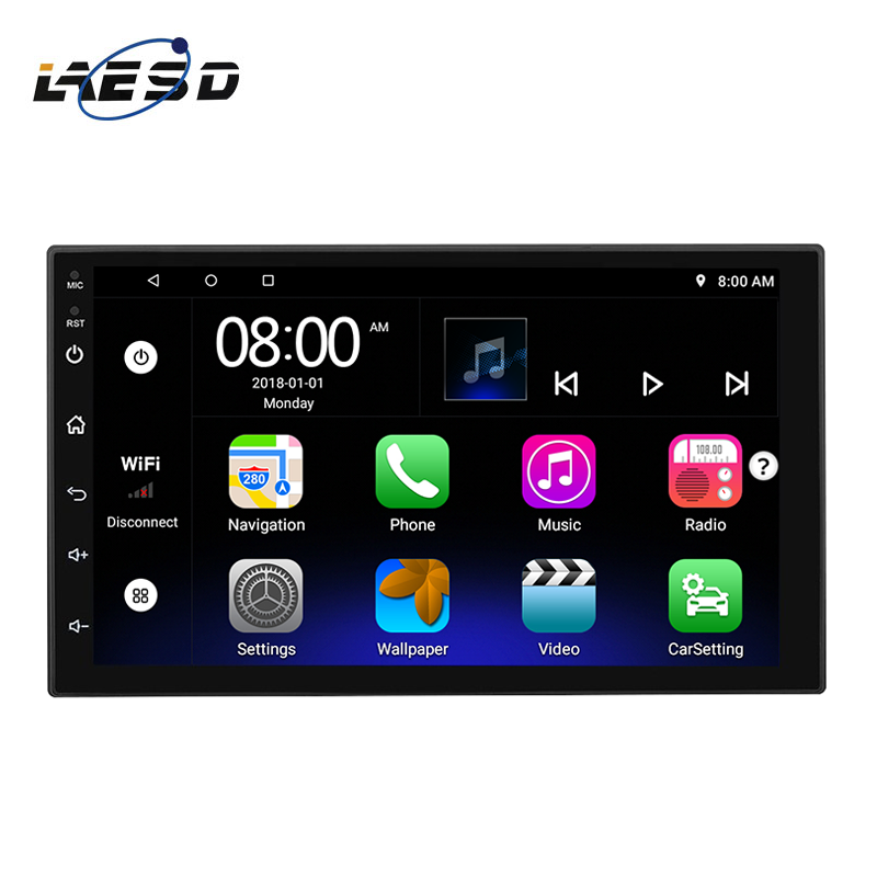 "N750 UI5 in stock TN screen radios autos 7"" 9"" 10.1"" 1+16G car radio universal 2 din android car players"