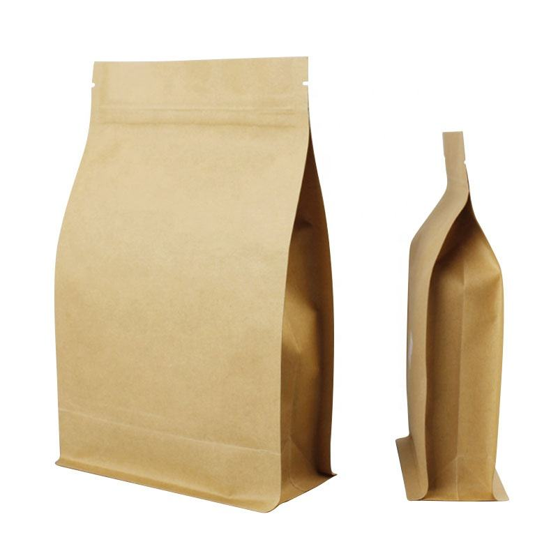 Aluminizing Kraft Paper Eight Side Sealing Bag Tea Bag Dry Fruits Grain Octagon Sealed Food Packing