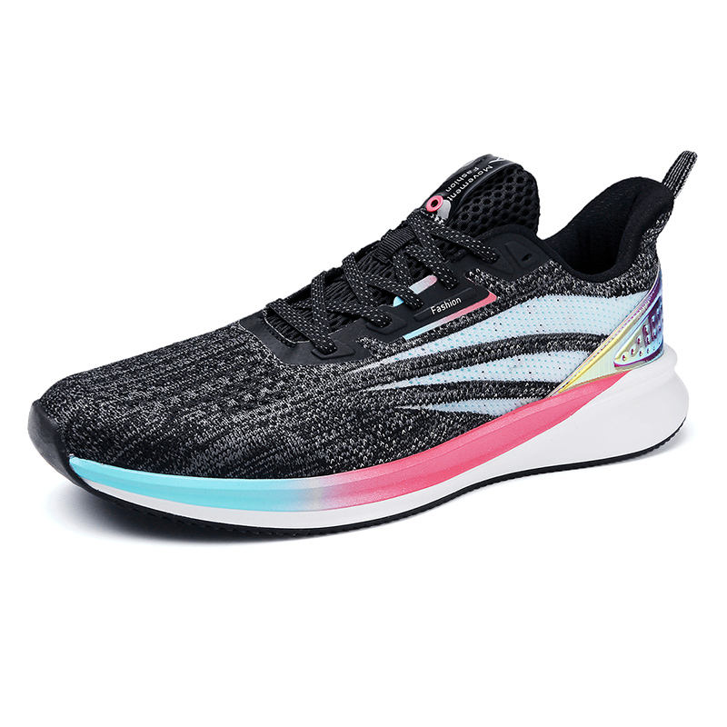 New styles wholesale mesh your own brand men's shoes 2020 sports ads export footwear dongguan canton fair