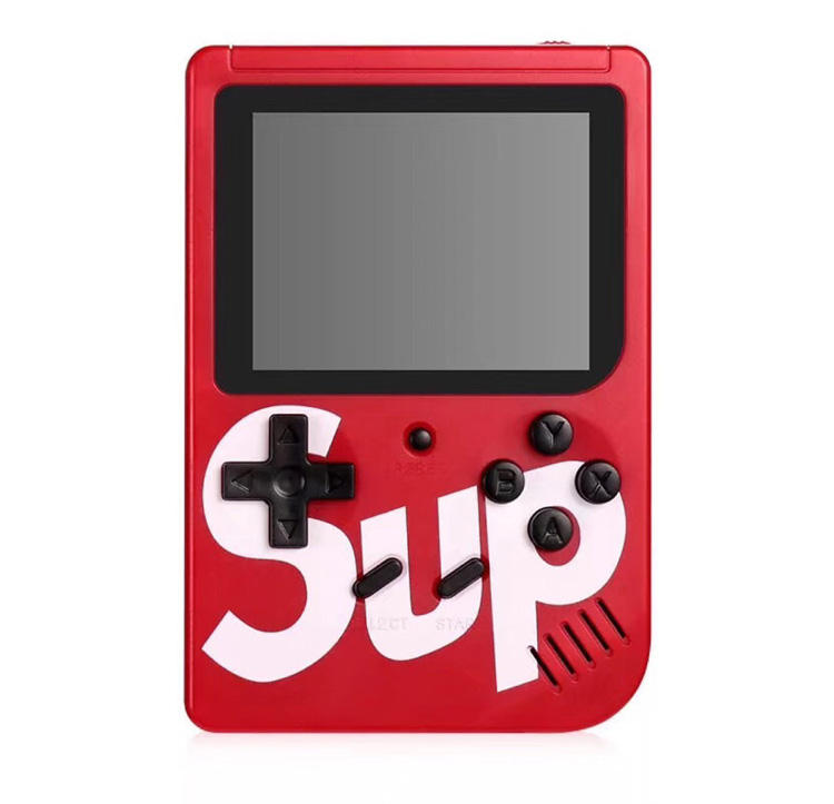 SUP Game Box Super Mario Mini Retro Game Single Built-in 400 IN 1 Games 3 Inch Screen Support TV Out Handheld Portable Console